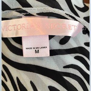 Intimates & Sleepwear - Victoria's Secret sheer zebra print nightie